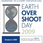 earthovershootday2009