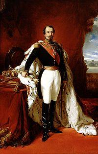 Napoléon III par Franz Xaver Winterhalter - Wikipédia